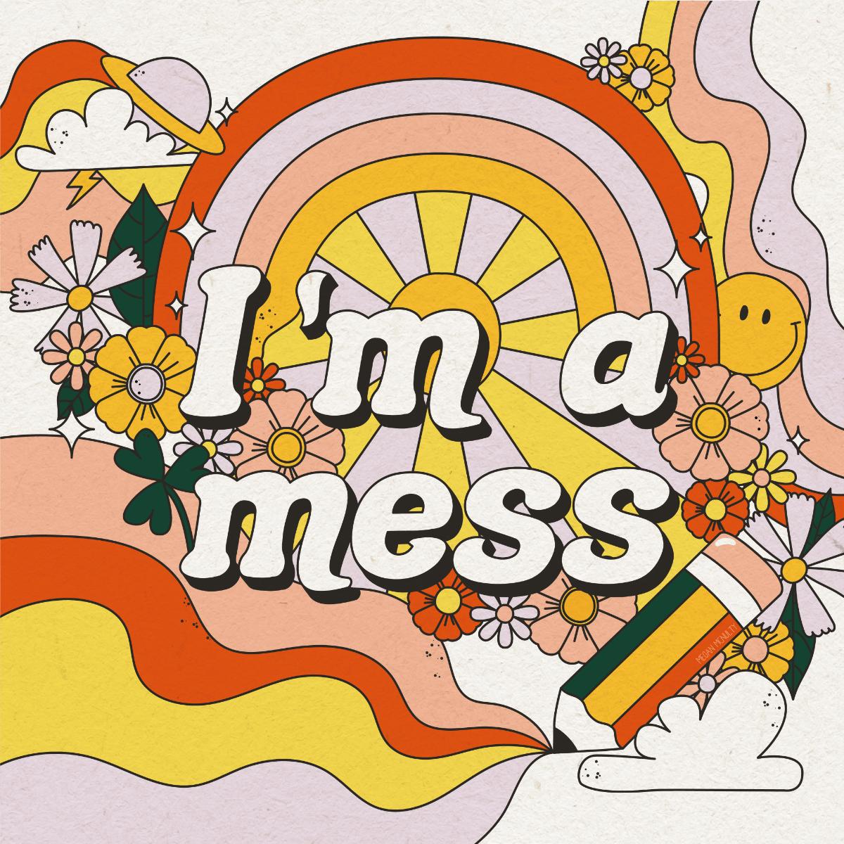 Megan McNulty 60s psychedelic