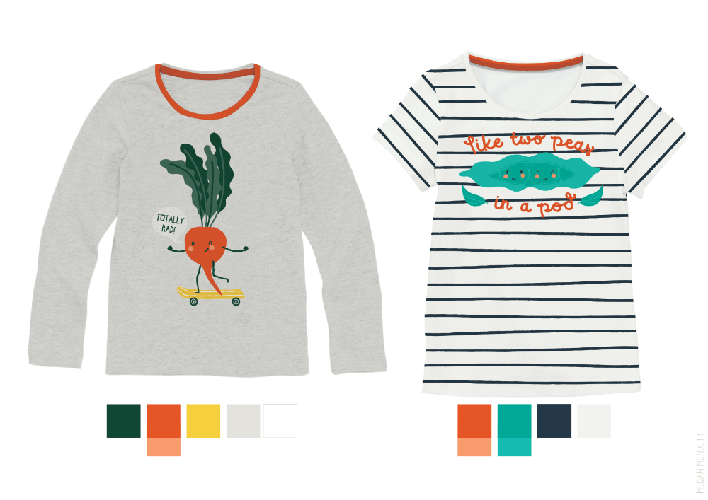 Megan McNulty veggie tees